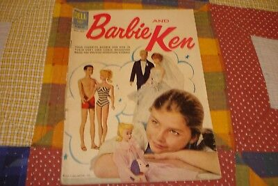 Vintage BARBIE AND KEN Comic DELL Publishing Co. May-July 1962 01-053-207