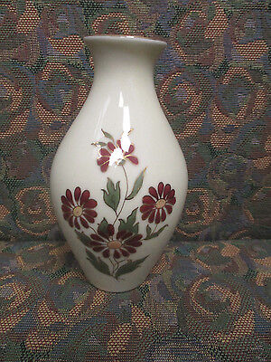 Zsolnay Hand Painted Porcelain vase Trimmed with 24K Gold