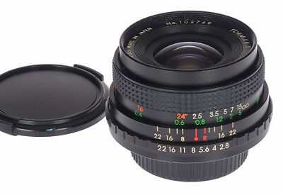 Formula 5 MC 28mm f2.8 Screwmount M42 Super Wide Angle (screw mount) Ex+