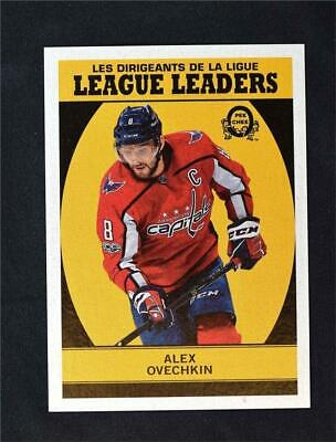 2018-19 18-19 Upper Deck UD O-Pee-Chee OPC Retro Blank Backs Alex Ovechkin