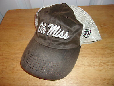 the latest 7edca 664fb Ole Miss Rebels Hat Cap NWT MSRP  22.99 Free Shipping!