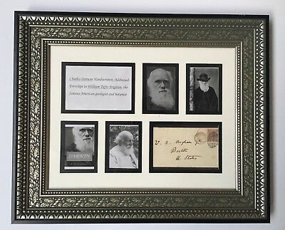 Charles Darwin Handwritten, Addressed Envelope ( Not Autograph/ Signed)