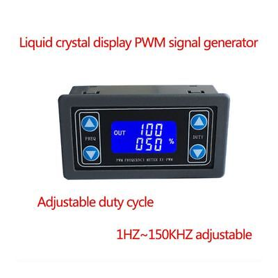1Hz-150KHz PWM Pulse Frequency Duty Adjustable Cycle Module Signal Generator