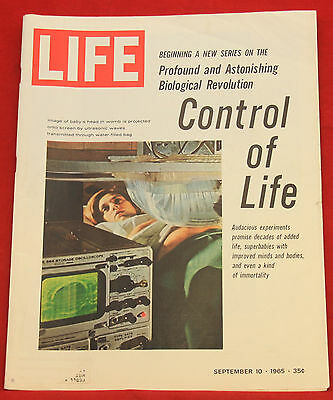 Life Rivista Settembre 10 1965, Vintage ad Budweiser 2 Pages Index in Foto