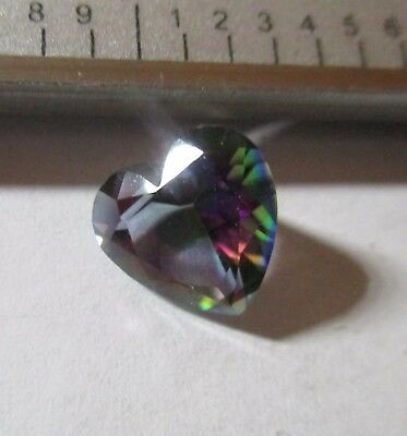 TOPAZ NATURAL MINED TREATED STUNNING COLOUR PLAY 2.86Ct  MF454