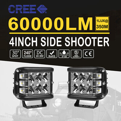 """8D 22""""inch 260W SLIM LED Work Light Bar Offroad Truck Driving Lamp For JEEP 4WD"""