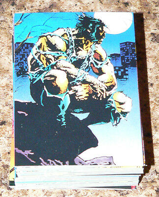 . Wolverine from then til now 2 - II - Comic Images in 1992.  90 card base set.