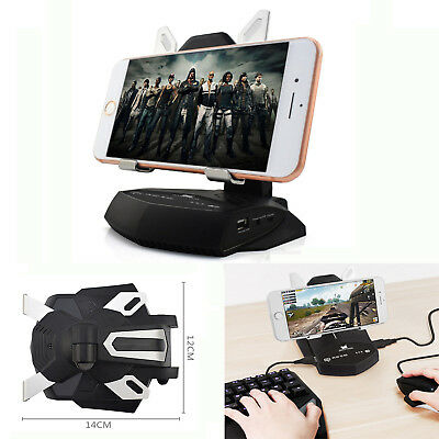 KEYBOARD AND MOUSE USB Converter Gamepad Battle Dock For PUBG Mobile Phone  Games