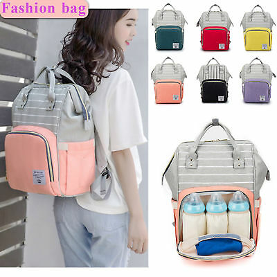 New Nappy Mummy Maternity Diaper Bag Changing Baby Bag Multifunctional Backpack