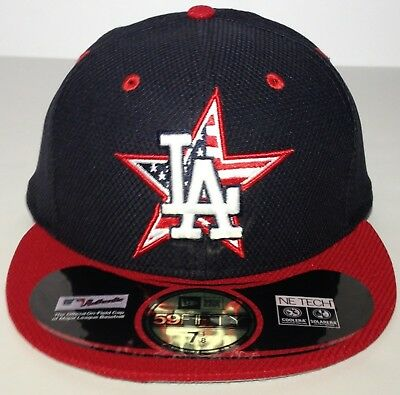 5a251f55b6b740 ... los angeles dodgers mlb new era 59fifty fitted hat cap4th of july
