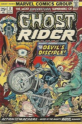 Marvel 1974 Ghost Rider #8