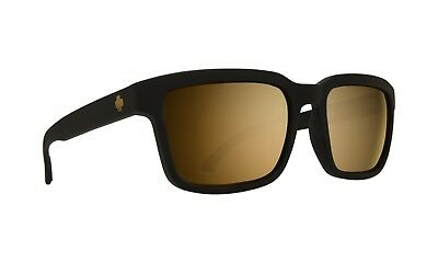 90b9a481b1 Spy Helm 2 Sunglasses - Matte Black - Happy Bronze w Gold Spectra