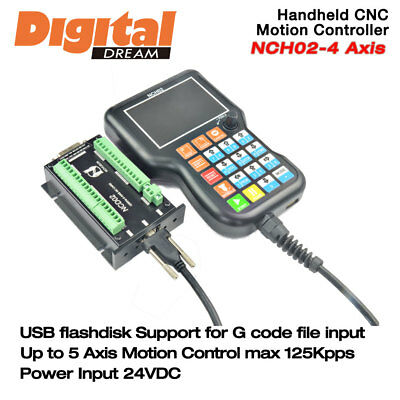 Digital Dream NCH-02 4 Axis CNC Handheld Motion Controller 125Khz