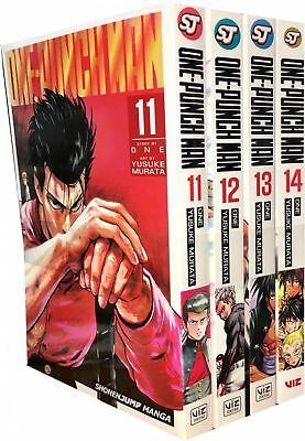 One-Punch Man Series 3 Volume 11-14 Collection 4 Books Set Children Manga Book