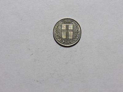 Old Iceland Coin - 1946 10 Aurar - Circulated