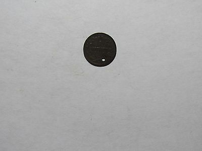 Old Italy Coin - 1908 R Old Type 1 Centesimo - Circulated, holed, rim damage