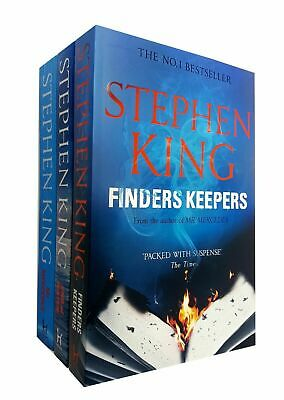 Stephen King Collection Bill Hodges Trilogy 3 Books Set Mr Mercedes Finders NEW