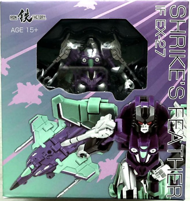 New Iron Factory Transformers IF EX-27 Shrike/'s Feather Slipstream In Stock