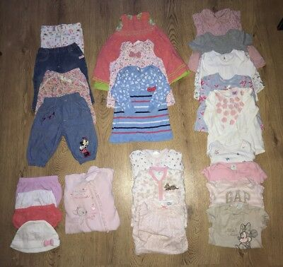 baby girl mixed clothing bundle job lot 3-6 months NEXT DISNEY