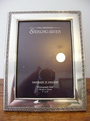"HALLMARKED SHEFFIELD 2001 SOLID SILVER PHOTO PICTURE FRAME 8.75"" x 6.75"" INCHES"