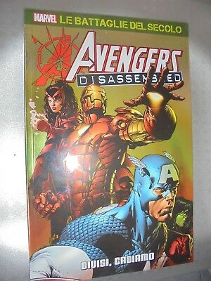 Le Battaglie Del Secolo Marvel N°35 Avengers Disassembled Divisi, Cadiamo Panini