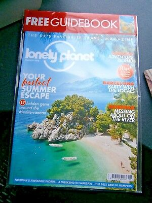 Lonely Planet Magazine August 2018 (new) With Free Guidebook
