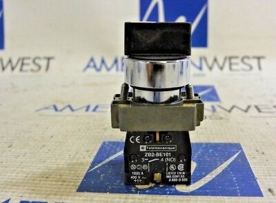 Telemecanique Selector Switch With Contact Block Zb2-Be101 400V
