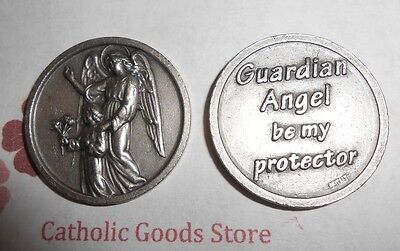 Guardian Angel Be My Protector - Pocket Token - Coin