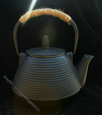 25cm Ancient Japan Japanese Prime pot Health Portable Teapot Teakettle pot flask