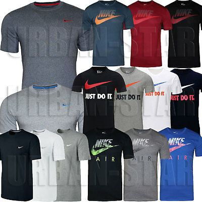 New Mens Nike T-Shirt Retro Gym Sports Tee T-Shirt Vintage Top Size S M L XL XXL