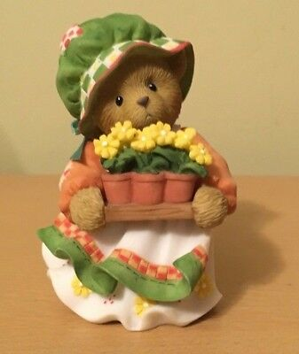 "Cherished Teddies #401286 Julia ""Keep on Blooming"" New in Box 2008"