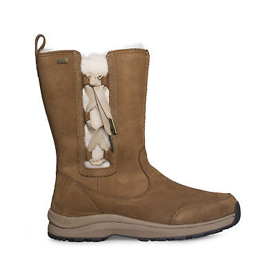 ca708936a40 UGG SUVI CHESTNUT Leather Waterproof Winter Snow Women's Boots Size Us 9 New