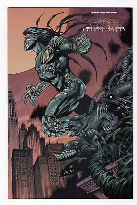The Darkness (1996) #28 Keu Cha Connecting VARIANT Limited Edition VF/NM