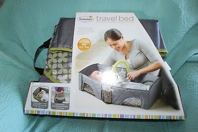 Summer Travel Bed Napping and Diaper Change Toy Bar