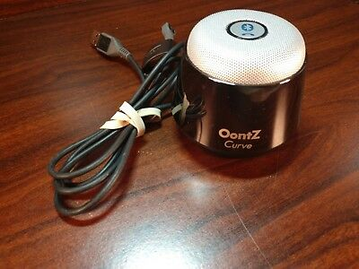 OontZ Curve Bluetooth Speaker Ultra Portable Wireless (Silver)-Free Shipping
