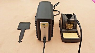 METCAL / OKI MFR-1100 70W Smartheat Soldering Iron Station with extras MFR-PS