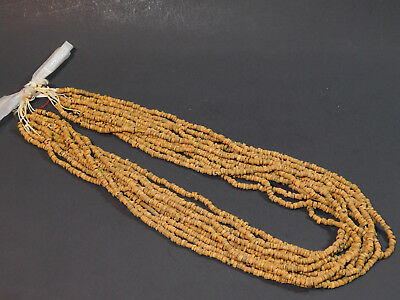 11 ANCIENT EGYPTIAN MUMMY BEADS Strands in Original state