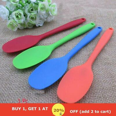 Resistant Accessories Kitchen Heat Serving Silicone Cooking Spoon Mixing