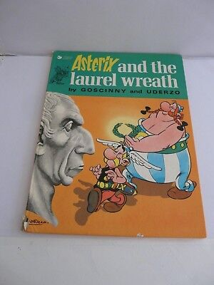 Asterix and the Laurel Wreath by Goscinny, Uderzo (1st Ed. Hardback, 1974)