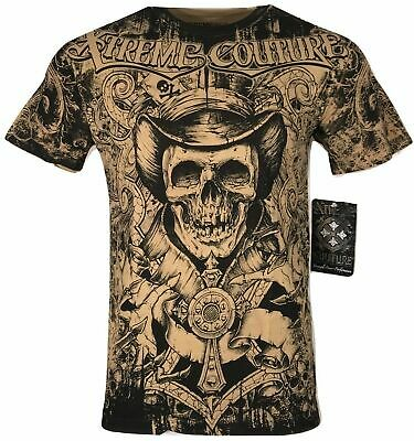 XTREME COUTURE by AFFLICTION Men T-Shirt THE CONJURING Biker MMA UFC S-2X $40