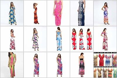 US SELLER-wholesale lot of 12 Summer Clothes bohemian maxi dressess beach sexy