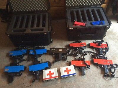 Commercial Mobile Laser Tag MAC 11 Guns by eCombat