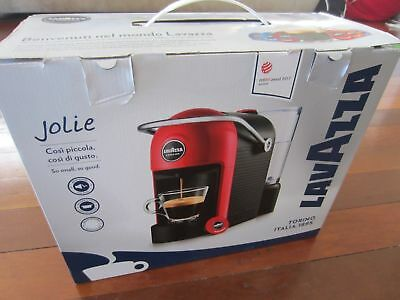 NEW Lavazza A Modo Mio Jolie Espresso Capsule Coffee Machine - White