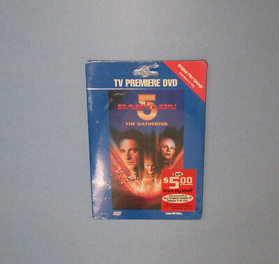 """TV Premiere DVD - Babylon 5 """"The Gathering"""" - New and Sealed"""