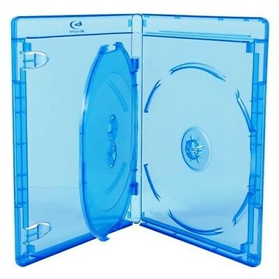 BLU-RAY Empty Case - Plastic Case With Plastic Sleeve (3 Disk Case)
