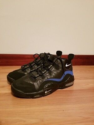 29c2bd56a07530 Nike Air Max Sensation Chris Webber Black Basketball Shoes Sz 8 NEW 805897  002