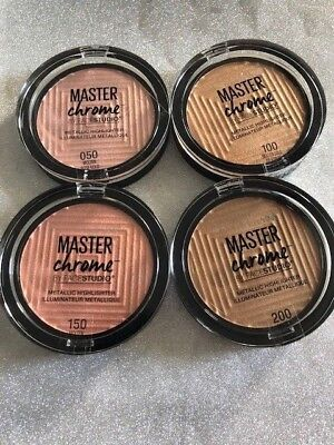 (1) Maybelline Master Chrome Metallic Highlighter, You Choose