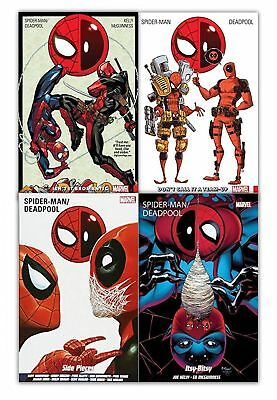Spiderman Deadpool Collection 4 Books Set Don't call It A Team-Up Itsy Bitsy NEW