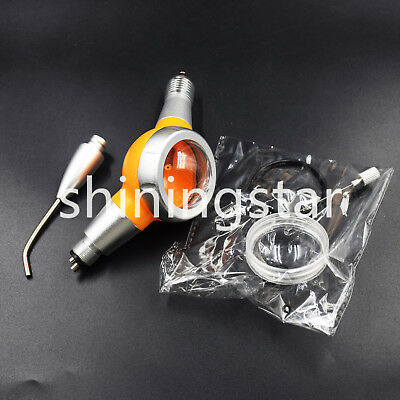 Dental Jet Air Flow Teeth Polishing Handpiece Hygiene Prophy Orange 4 Holes
