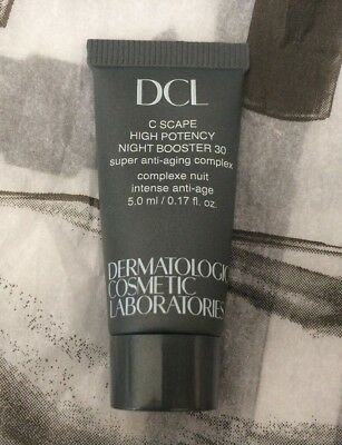 DCL C Scape High Potency Night Booster 30  Brand new 5ml tube